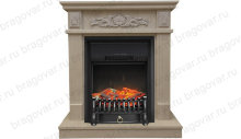 Каминокомплект Real Flame Adelaida с очагом Fobos Black/Brass