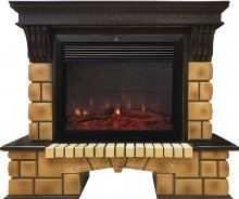 Каминокомплект Real Flame Stone Brick 26 Moonblaze Deluxe