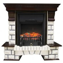 Каминокомплект Royal Flame Pierre Luxe с очагом Fobos FX Black