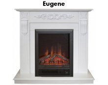 Каминокомплект Real Flame Dominica STD/EUG DN/WT с очагом Eugene