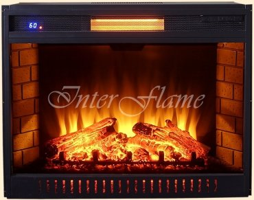 Электрический очаг Inter Flame Jupiter 31 Black LED FX QZ