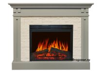Каминокомплект Royal Flame Cambridge Umbra Grey с очагом Jupiter FX New